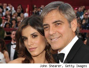 George Clooney Elisabetta Canalis Split
