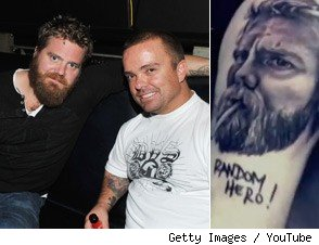 Jason Acuna Ryan Dunn Tattoo