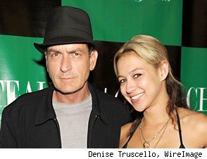 Charlie Sheen Natalie Kenly Split