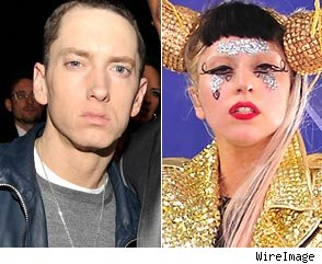 Eminem and Lady Gaga