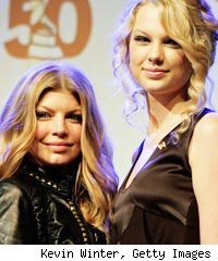 Fergie and Taylor Swift