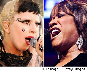 Lady Gaga and Patti LaBelle
