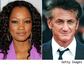 Garcelle Beauvais and Sean Penn