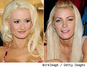 Holly Madison and Crystal Harris