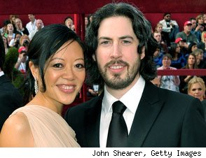 Michelle Lee and Jason Reitman