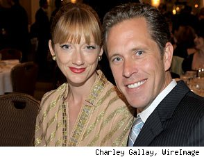 Judy Greer and Dean Johnsen