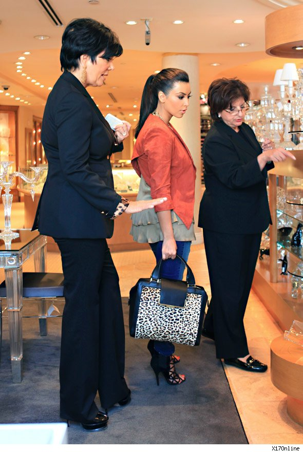 Kim Kardashian and Kris Humphries Register for Wedding Gifts