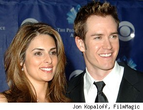 Mark Paul-Gosselaar and Lisa Ann Russell