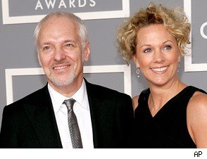 Peter Frampton and Christina Elfers