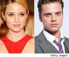 Dianna Agron and Sebastian Stan