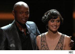 Javier Colon and Dia Frampton