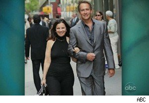 Fran Drescher and Peter Jacobson