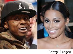 Lil Wayne and Lauren London