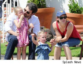 Ben Affleck Jennifer Garner daughters