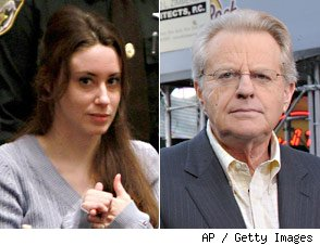Casey Anthony, Jerry Springer