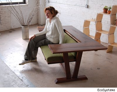 Tight Rental Space? Try This Table/Love Seat | AOL Real Estate