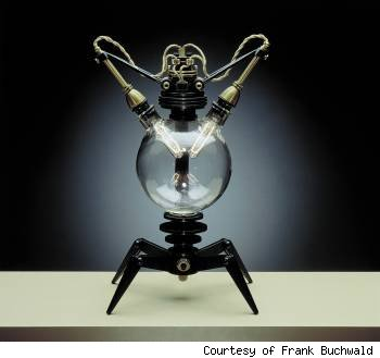 Frank Buchwald, steampunk lamp