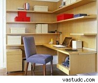 home office, modular shelving