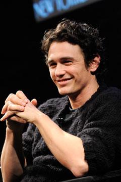 james franco is moving to nyc. photo: gary gershoff, getty images