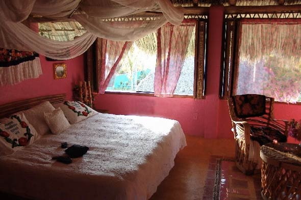Betsey Johnson's house in Mexico