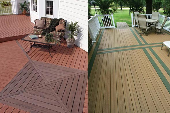 composite decking patios