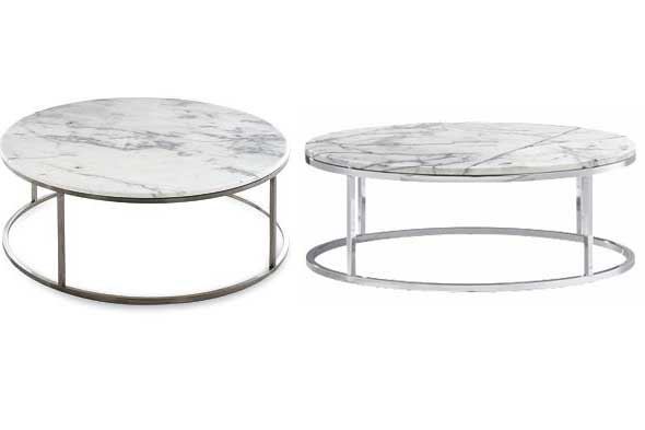 marble round tables, coffee tables