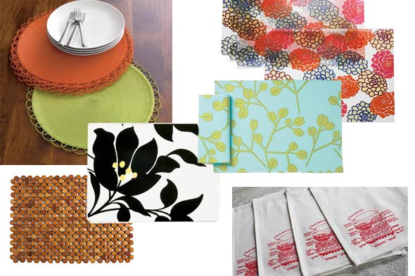 fun and patterned placemats