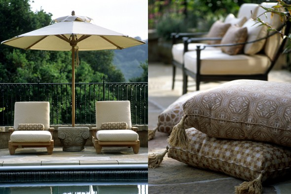 with sunbrella outdoor fabrics the living is easy photos sunbrella - Sunbrella Fabrics