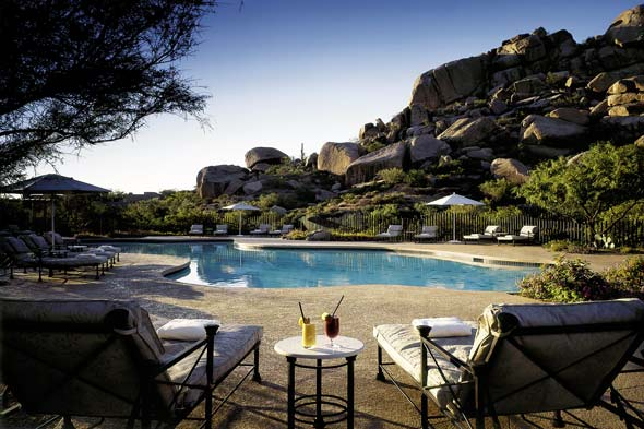 The Boulders Resort Golden Door Spa pool