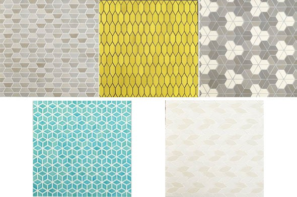 Heath Ceramics and Dwell tile collection