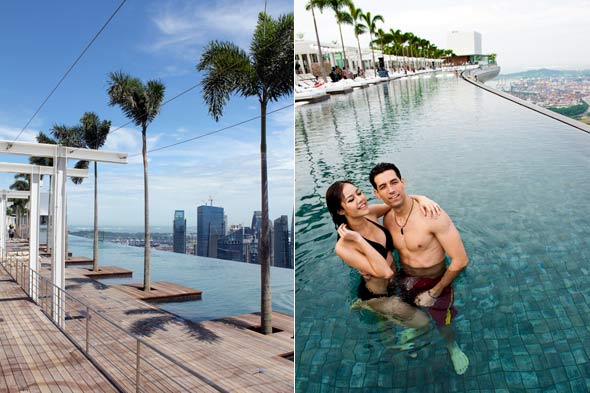 Marina Bay Sands Singapore Pool