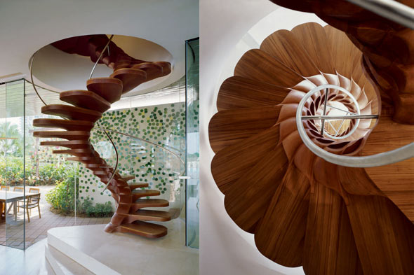blossom staircase