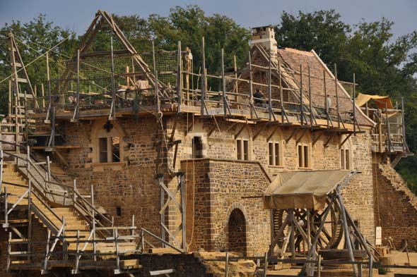 new medieval castle in France