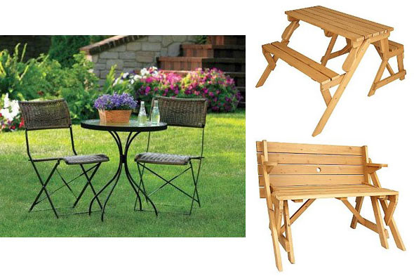 inexpensive casual outdoor dining