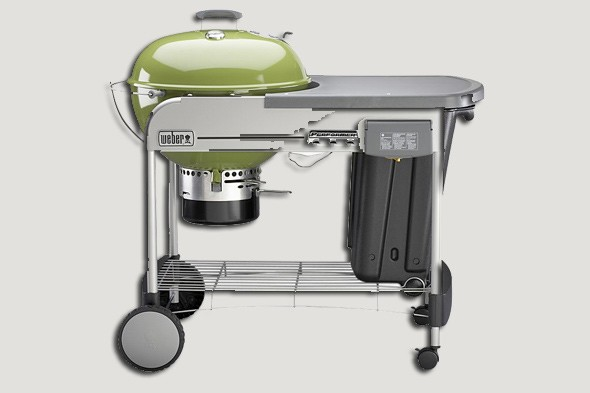 Shop Weber Performer Touch-N-Go Charcoal Grill at Lowes.com