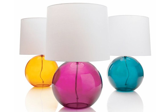 Lamps from Crate & Barrel