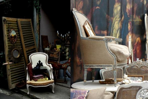 best flea markets: London and Paris Flea