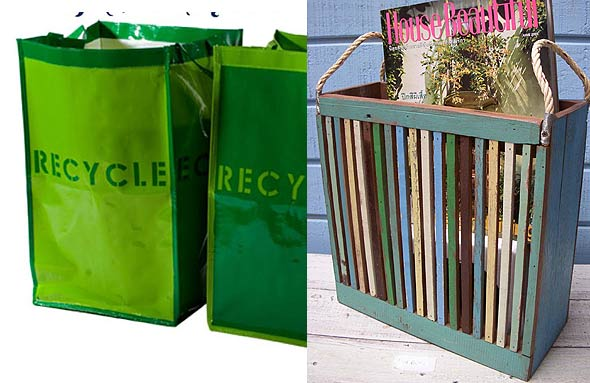 home-recycling sustainable recycling bins