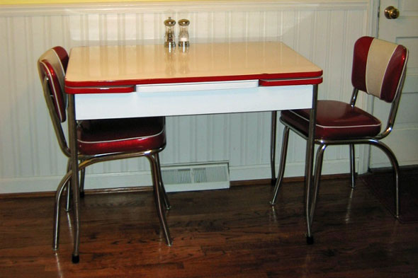 vintage furniture kitchen dining table