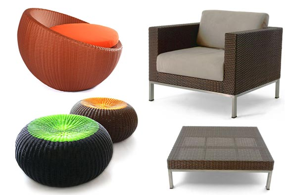 indoor wicker choose darker wicker colors