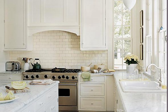 Paint Colors All White Kitchen