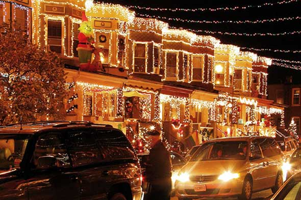 The Best Christmas Lights in America - Baltimore Spokes