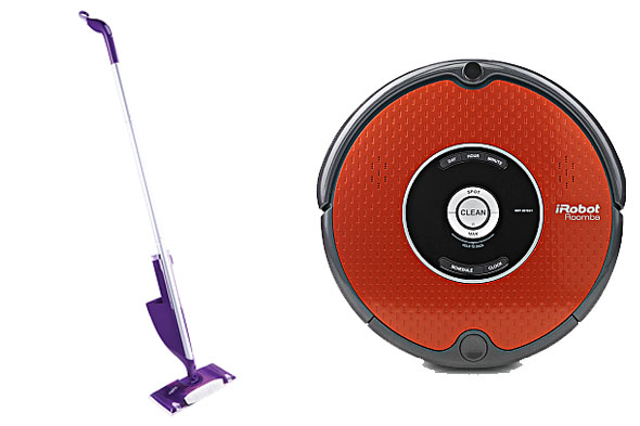 cleaning tips living with disabilities Roomba Wet Jet Swiffer