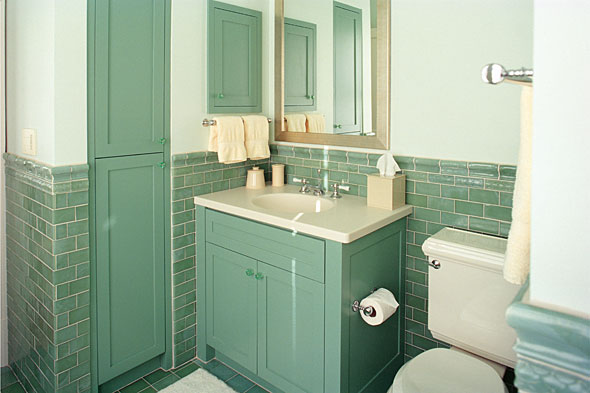 retro bathroom makeovers