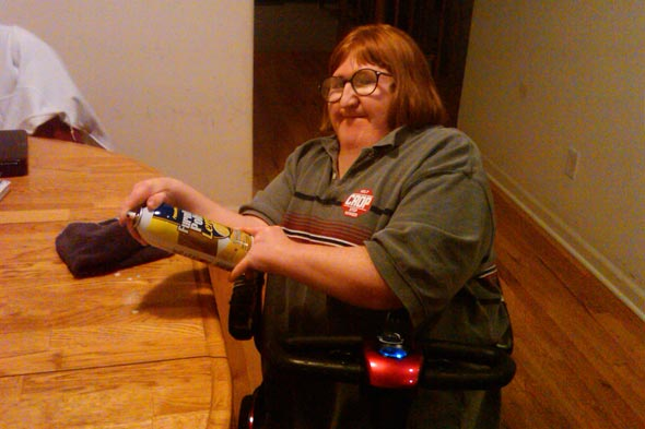 cleaning tips living with disabilities Melissa Blake