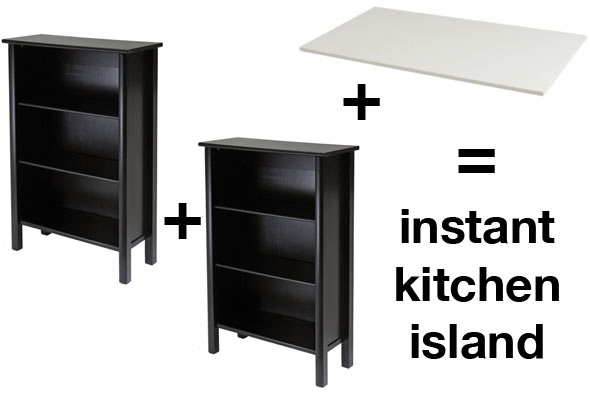 How to make an easy island/craft table