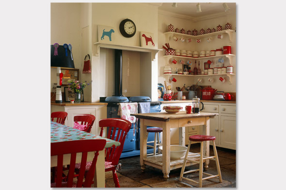 Husker dream homes brighten your kitchen with color for Red kitchen decor