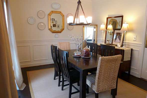 90 stylish dining room wall decorating ideas 2016 for Dining room furnishing ideas