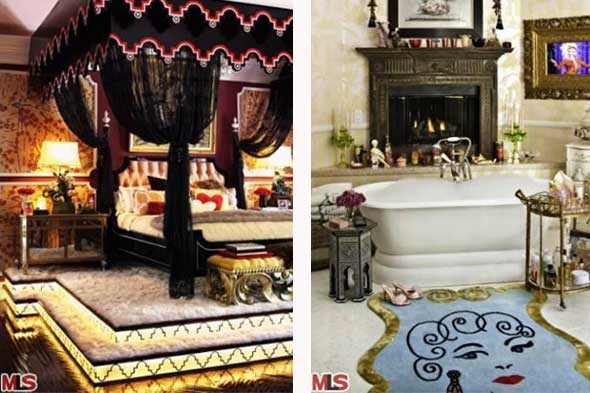 A Look Inside Christina Aguilera S House Celebrity