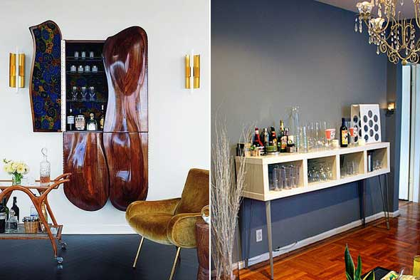 Creative Home Bar image of creative home bar in basement Home Bar Ideas